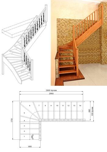 Типовая лестница