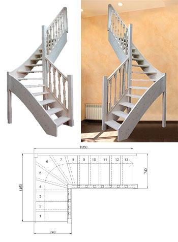 Типовая лестница ЦЛ-11