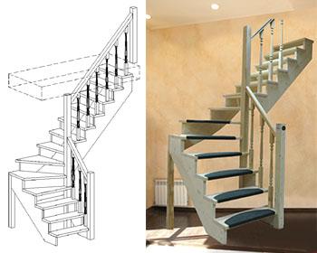 Типовая лестница ЦЛ-14