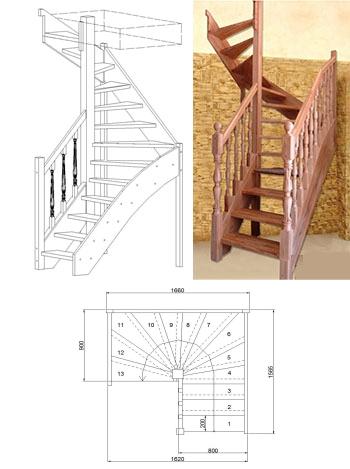 Типовая лестница ЦЛ-2