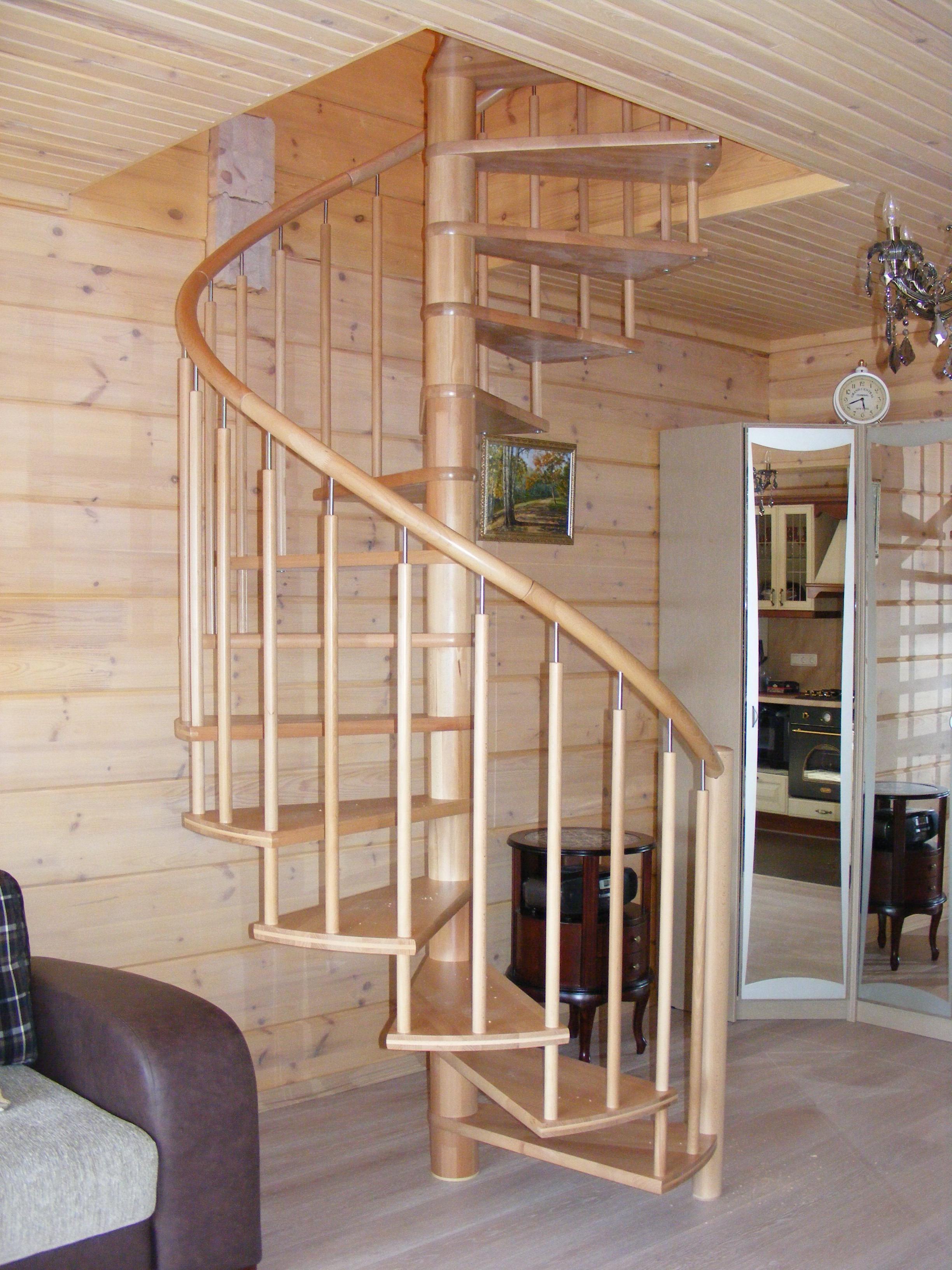 Винтовая лестница Юта