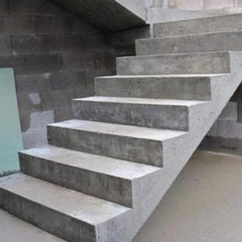 Полнотелые бетонные лестницы
